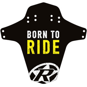 Reverse Born to Ride Stänkskärm gul/svart